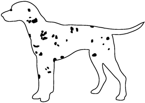 Dalmation Ornament