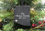 Arizona Slate Christmas Ornament