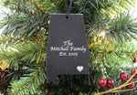Alabama Slate Ornament