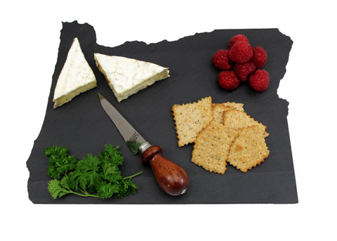 Oregon Slate Cheese Board- Personalized with Laser Engraving