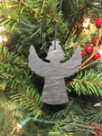Angel Slate Christmas Ornament