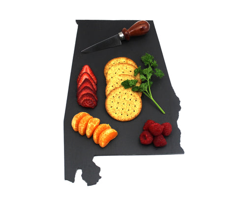 Alabama Slate Cheese Board- Personalized with Laser Engraving