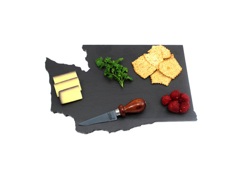 Washington Slate Cheese Board- Personalized with Laser Engraving