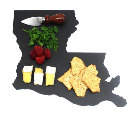 Louisiana Slate Cheese Board- Personalized with Laser Engraving
