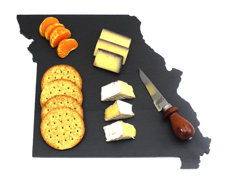 Missouri Slate Cheese Board- Personalized with Laser Engraving