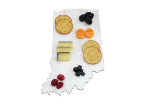 Indiana Marble Cheese Board