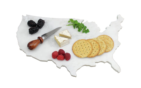 United States Marble Cheese Board