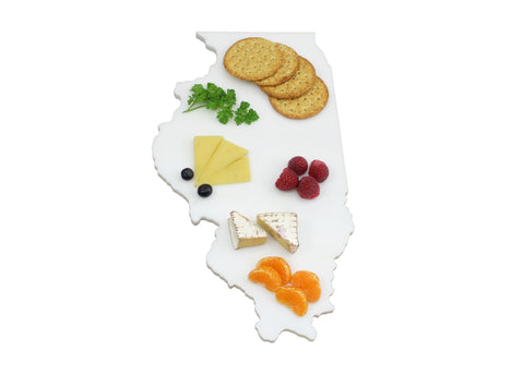 Illinois Marble Cheese Board