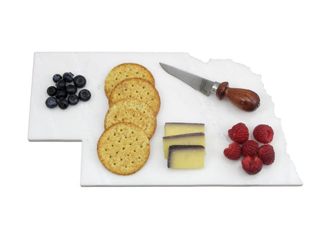 Nebraska Marble Cheese Board