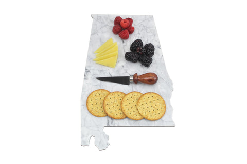 Alabama Marble Cheese Board
