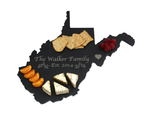 West Virginia Slate Cheese Board