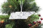 Tennessee Marble Christmas Ornament