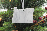 Oregon Marble Christmas Ornament