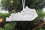 Kentucky Marble Christmas Ornament