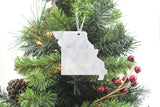 Missouri Marble Christmas Ornament