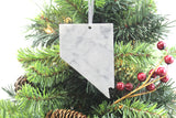 Nevada Marble Christmas Ornament