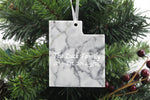 Utah Marble Christmas Ornament