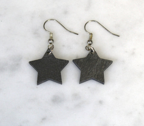 Star Slate Earrings
