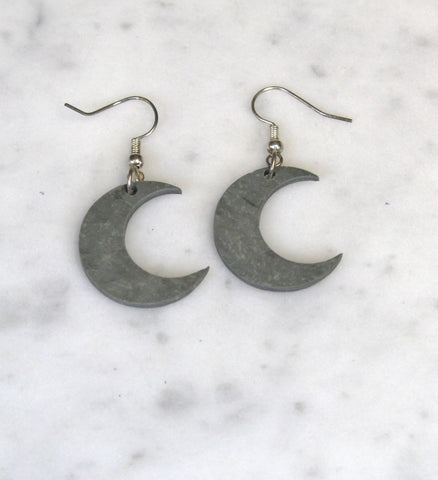 Moon Slate Earrings