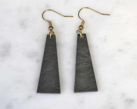 Drop Slate Earrings