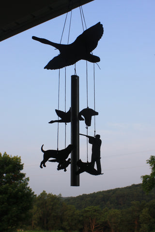 Duck Hunting Slate Wind Chime
