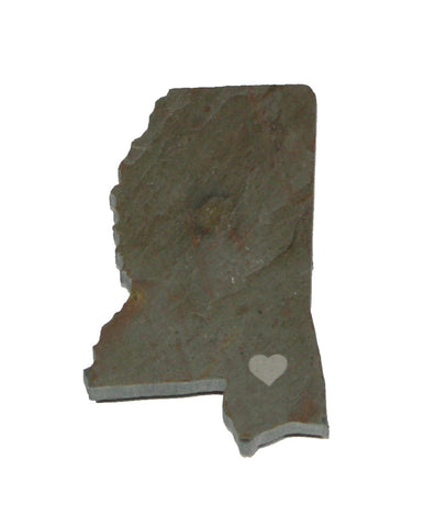 Mississippi Slate Fridge Magnet