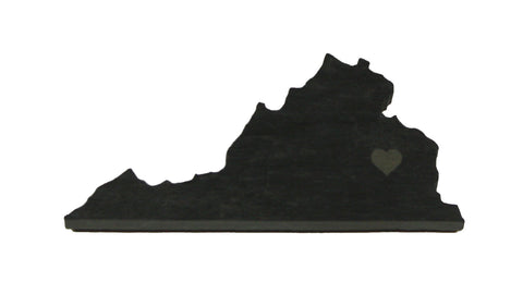 Virginia Slate Fridge Magnet