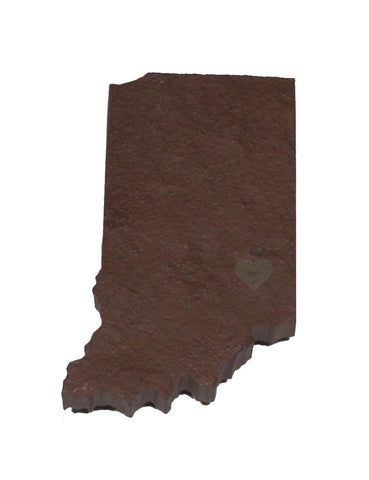 Indiana Slate Fridge Magnet- Personalized with Laser Engraving