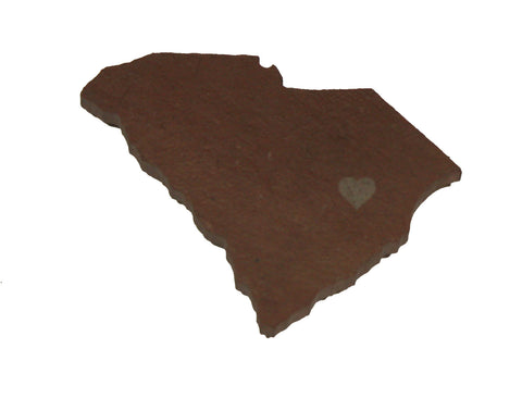 South Carolina Slate Fridge Magnet- Personalized with Laser Engraving