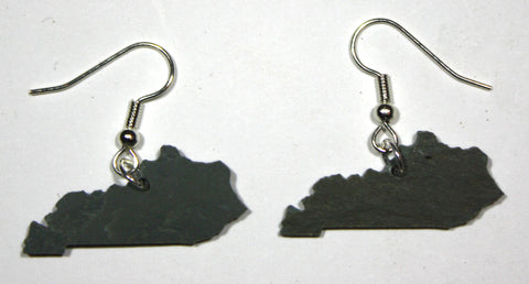 Kentucky Slate Earrings- Personalized with Laser Engraving