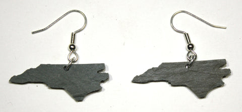 North Carolina Slate Earrings