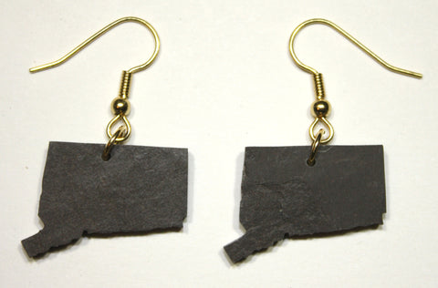 Connecticut Slate Earrings
