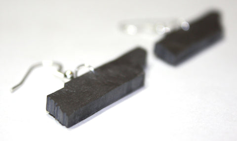 Tennessee Slate Earrings- Personalized with Laser Engraving