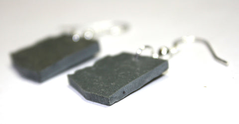 Arizona Slate Earrings- Personalized with Laser Engraving