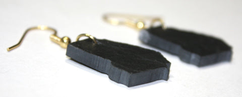 Georgia Slate Earrings- Personalized with Laser Engraving