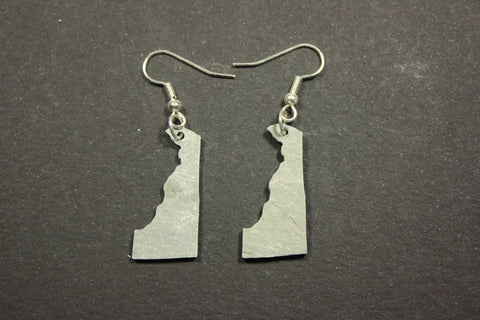 Delaware slate earrings
