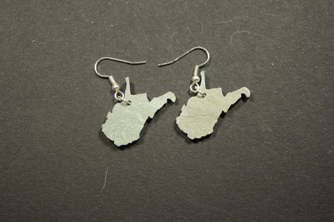 West Virginia Slate Earrings