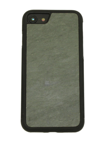 iPhone 8 Natural Stone (Slate) Phone Case- Personalized with Laser Engraving