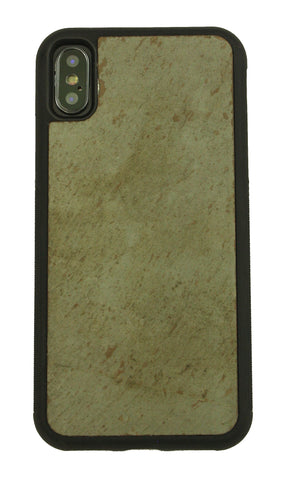 iPhone X Natural Stone (Slate) Phone Case- Personalized with Laser Engraving