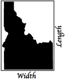 Idaho Dimensions