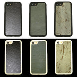 iPhone 7 Natural Stone (Slate) Phone Case- Personalized with Laser Engraving