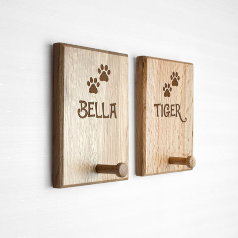 Personalised Paw Print Peg Hook
