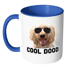 Drinkware - Cool Dood Doodle Accent Color Mug