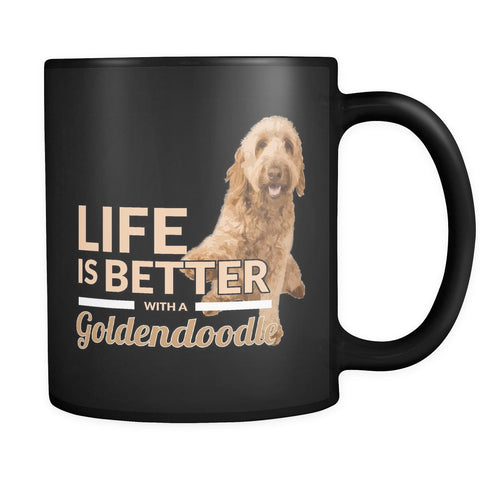 Drinkware - Life Is Better With A Goldendoodle Mug
