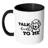 Drinkware - Talk Doodle To Me Accent Mug