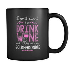 Drinkware - Wine And Goldendoodles