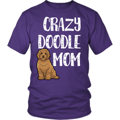 Brown Crazy Doodle Mom