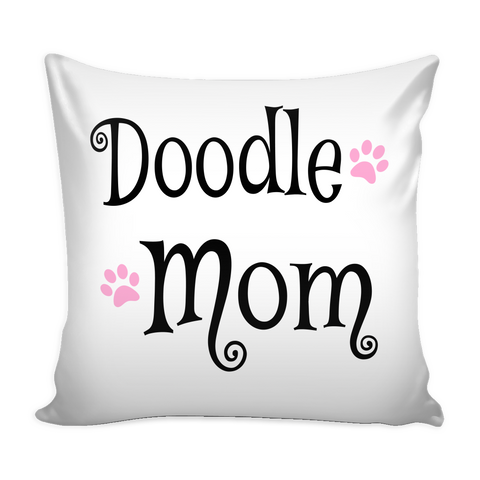 Doodle Mom Pillow with Insert