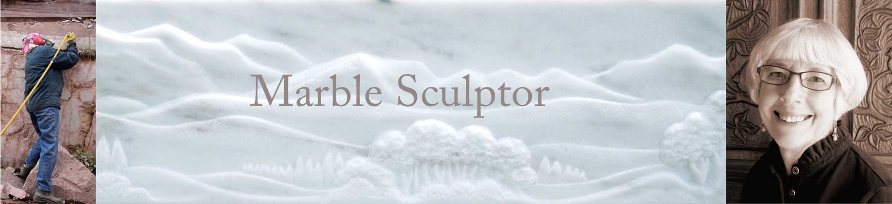 Nancy Diefenbach marble sculptor from Vermont