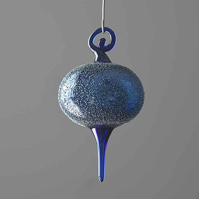 Blown Glass Ornaments- Blue Collection